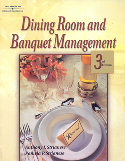 Bookstore egyptian chefs association for Dining room operations