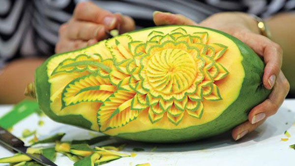 Fruit & Vegetable Carving Class
